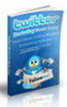 Thumbnail Twitter Marketing Made Easy with PLR